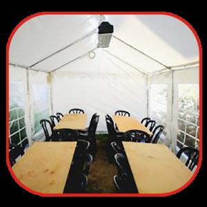 אירועים בתוך אוהל